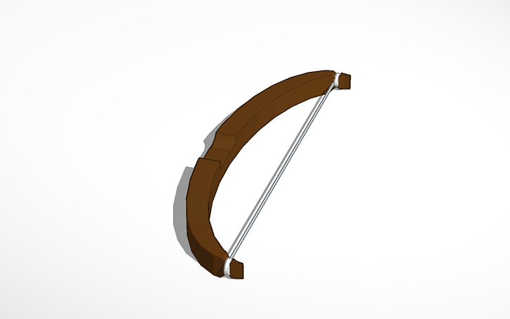 3D design Recurve Bow | Tinkercad