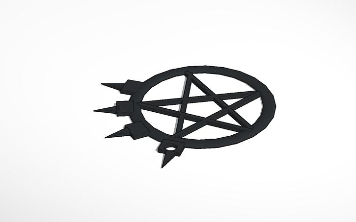 3d Design Arch Enemy Logo Tinkercad