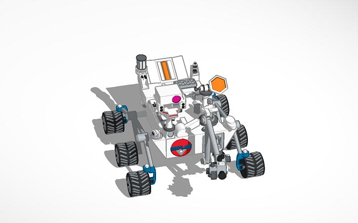 MARS Rover | Tinkercad