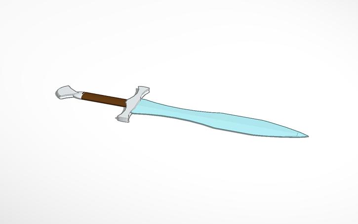 3D design Bilbo´s Sting | Tinkercad