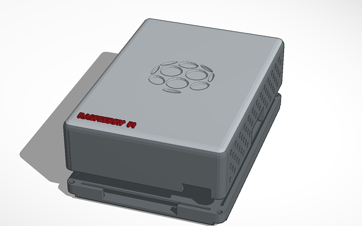 3D design Copy of Raspberry Pi Case | Tinkercad
