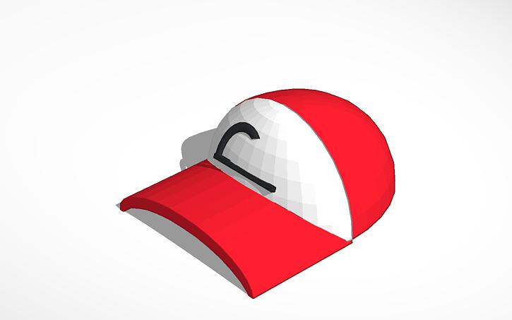 3d Design Pokemon Hat Tinkercad