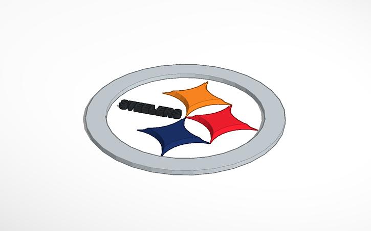 3d Design Steelers Logo Tinkercad
