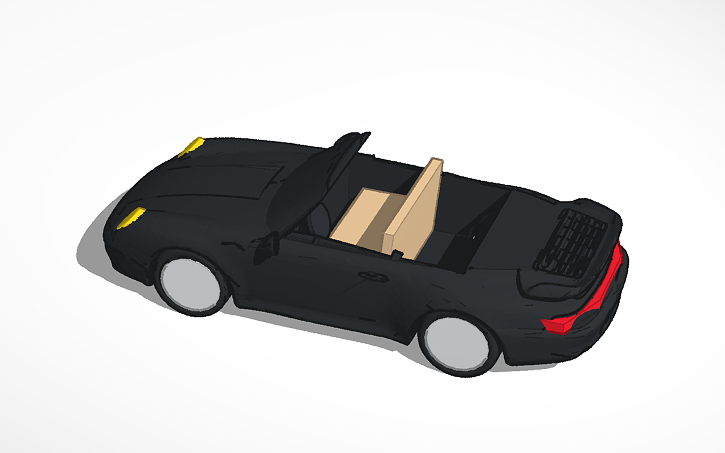 3D design The Tuner Vehicle | Tinkercad