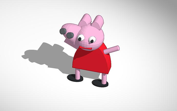 3d Design Peppa Pig Tinkercad