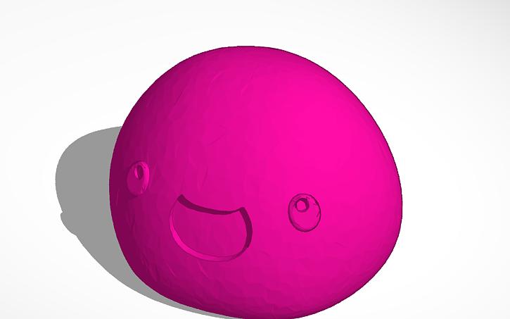 3D design Slime Rancher Pink Slime | Tinkercad
