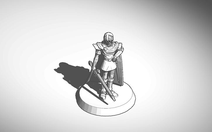3D design Super Smash Bros  Marth Trophy | Tinkercad