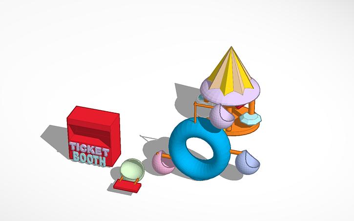 3d Design Theme Park Tinkercad