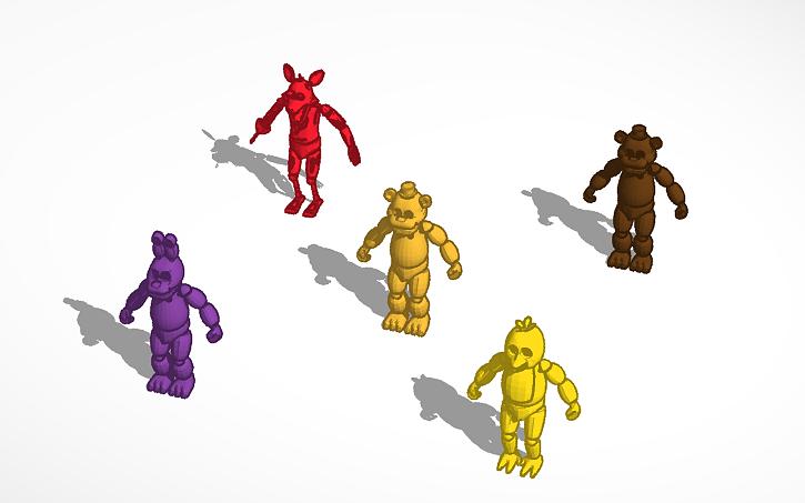 3D design FNAF | Tinkercad