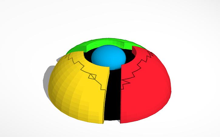 3D design google chrome icon | Tinkercad