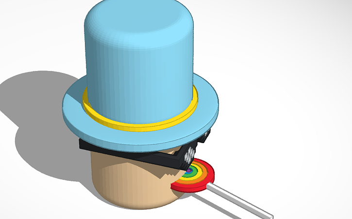 Roblox Head Hat Roblox Head Tinkercad