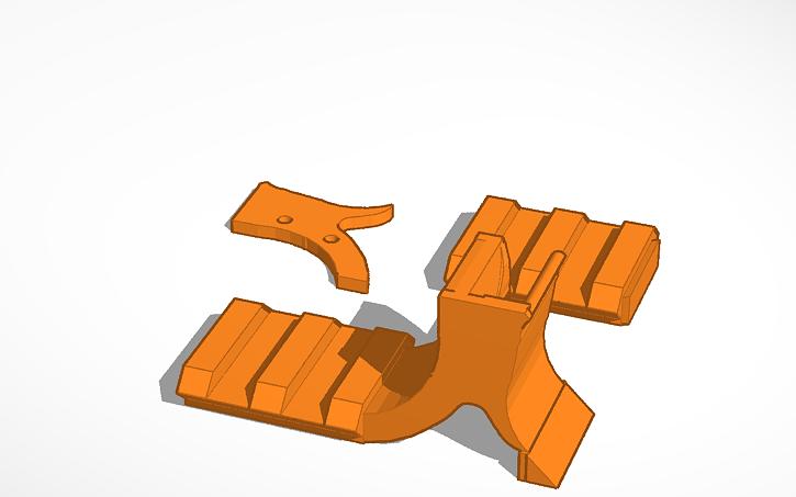 3D design Hipoint c9 laser rail   Tinkercad