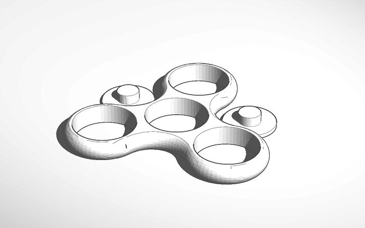 3d design fidget spinner og tinkercad. Black Bedroom Furniture Sets. Home Design Ideas