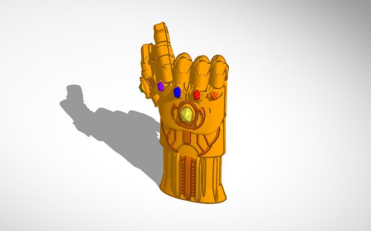 3D design The Thanos Snap | Tinkercad