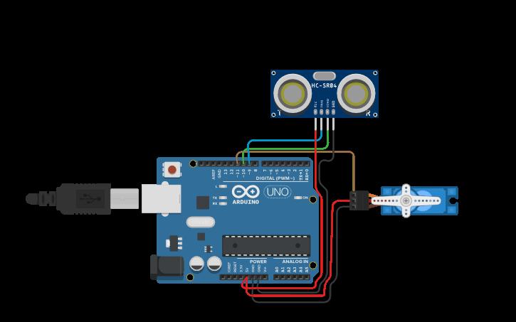 Cool Circuit Design Circuit Diagram Of Arduino Radar Project Tinkercad Wiring Digital Resources Antuskbiperorg