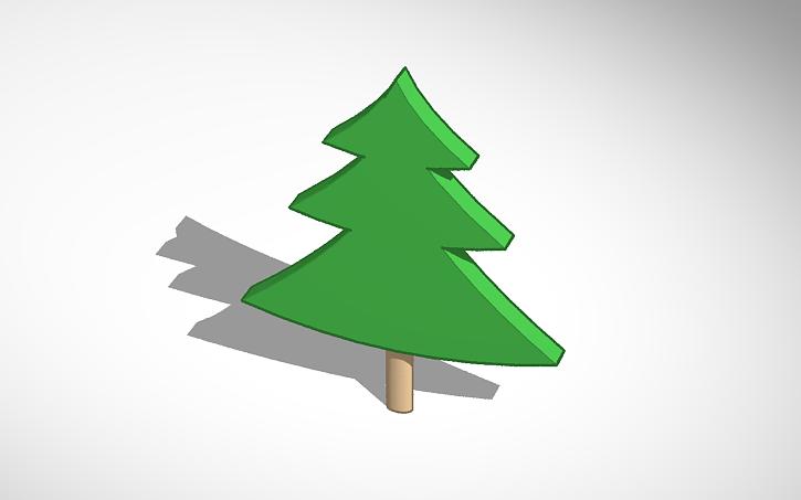 3d Design Kerstboom Tinkercad