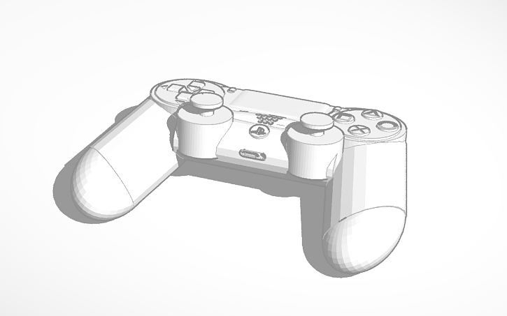 3D design Color Your OWN PS4 Controller   Tinkercad
