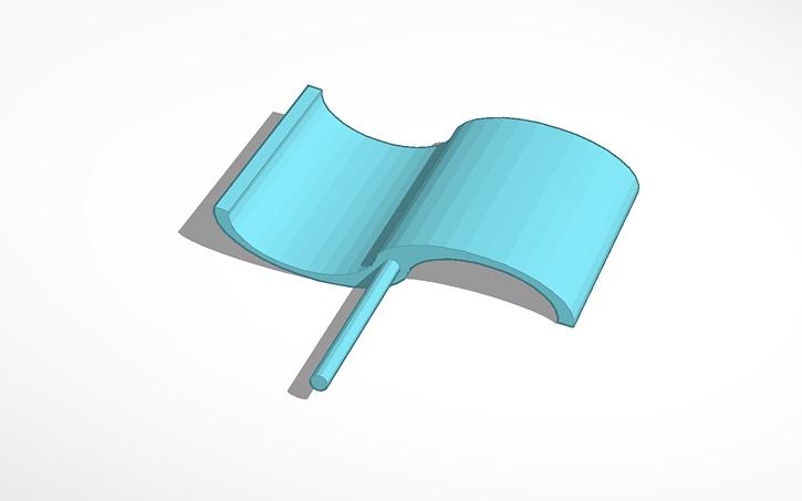 3D design Copy of Savonius Wind Turbine | Tinkercad