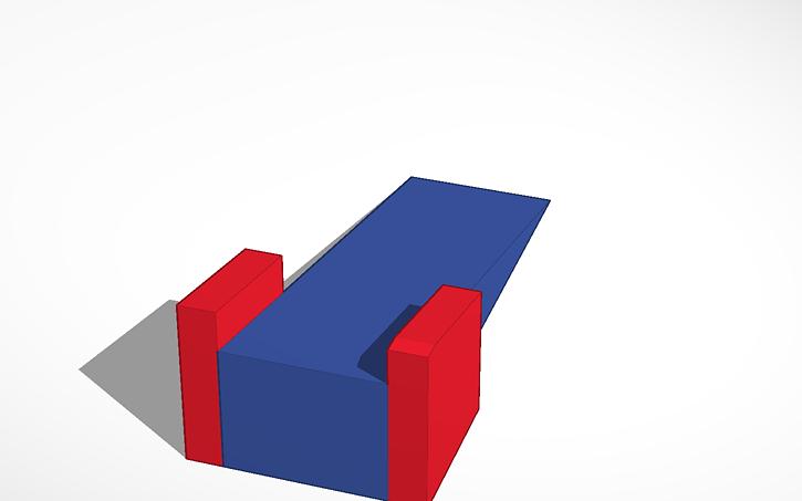 Awe Inspiring 3D Design Rocking Chair Wedge Tinkercad Customarchery Wood Chair Design Ideas Customarcherynet
