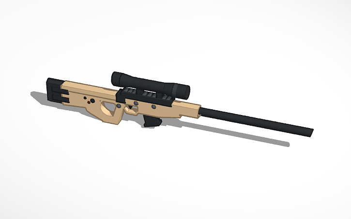 Fortnite Bolt Action Sniper Tinkercad