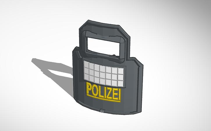 3D design Rainbow six siege: Blitz shield | Tinkercad