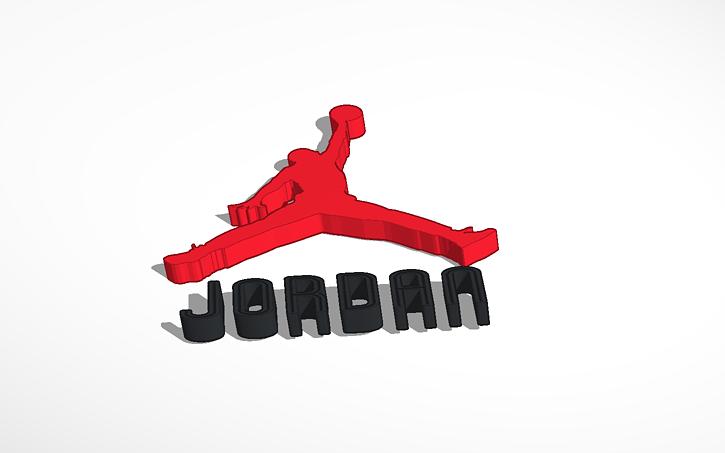 3d design michael jordan symbol tinkercad jpg gif or png image that is under 5mb voltagebd Choice Image