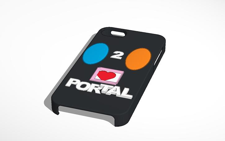 3d Design Portal Iphone Tinkercad