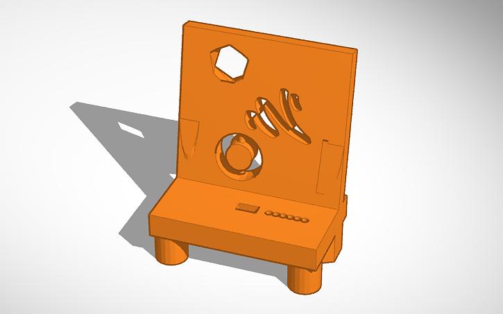 3D design iPhone Charging/Docking Station | Tinkercad