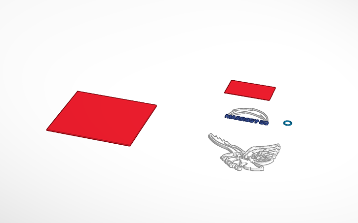 3D design svg import example | Tinkercad