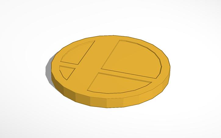 3D design Super Smash Bros  Trophy Stand | Tinkercad