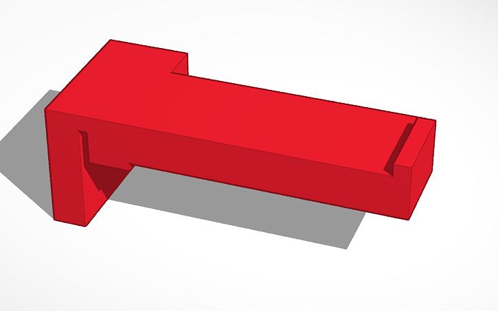 3D design Simple Spool Holder Anycubic Mega-S v2   Tinkercad