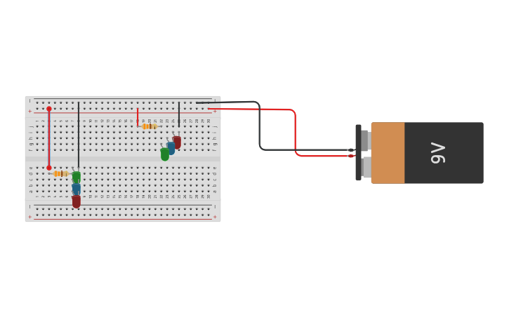 Circuito Serie : Circuit design circuito paralelo y serie tinkercad