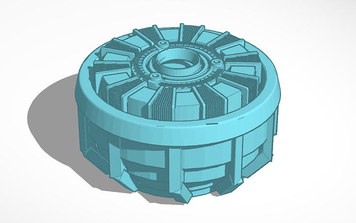 3D design Arc Reactor | Tinkercad