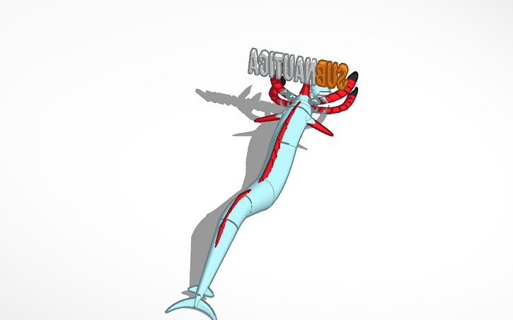 3D design reaper leviathan from subnautica + seamoth | Tinkercad