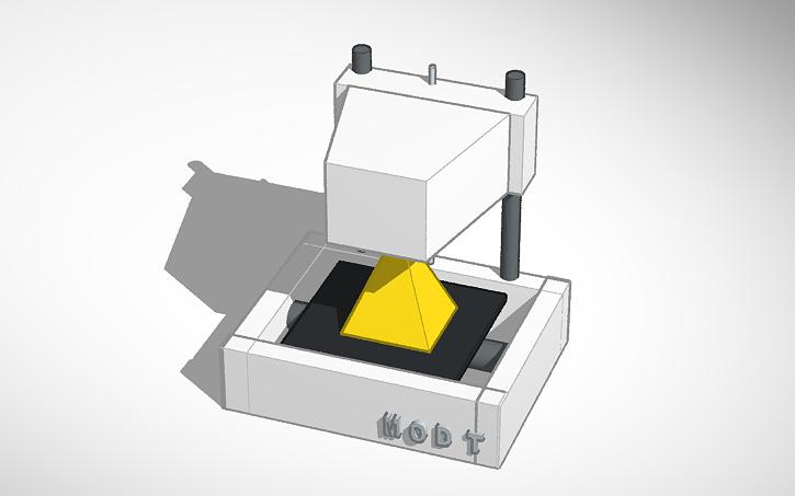 New Matter Mod T 3d Printer >> 3d Design New Matter Mod T 3d Printer Tinkercad