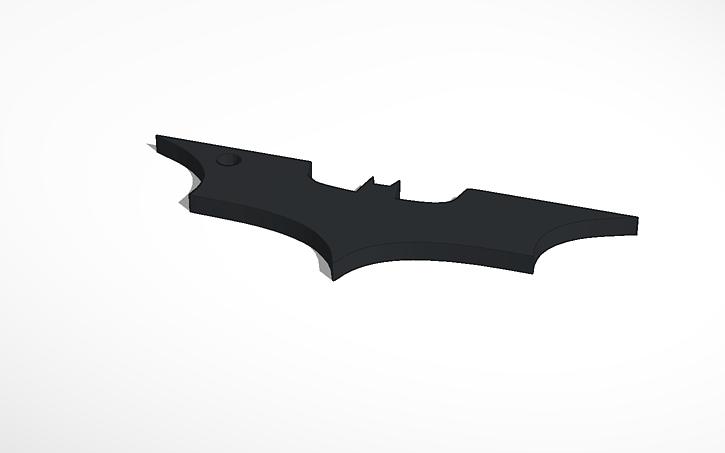3d Design Batman Symbol Palis Tinkercad