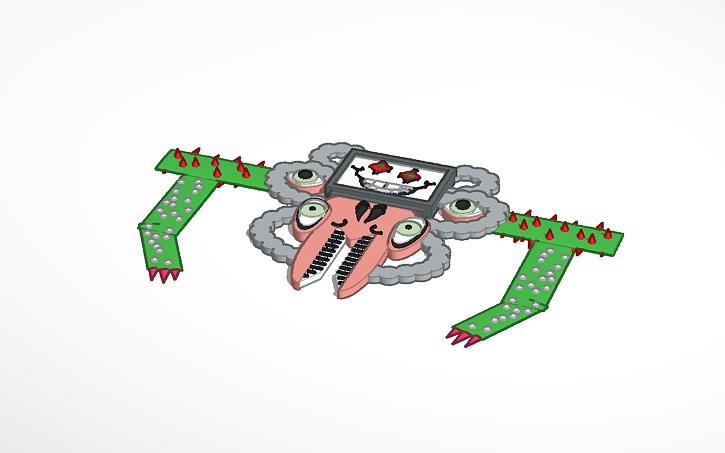 3D design Omega Flowey!   Tinkercad