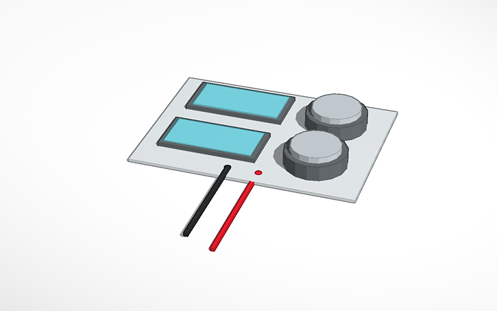 3D design 123d circuits power supply | Tinkercad