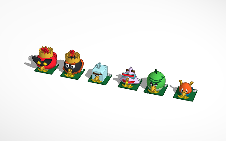3d design chess anger birds space angry birds space tinkercad jpg gif or png image that is under 5mb voltagebd Images