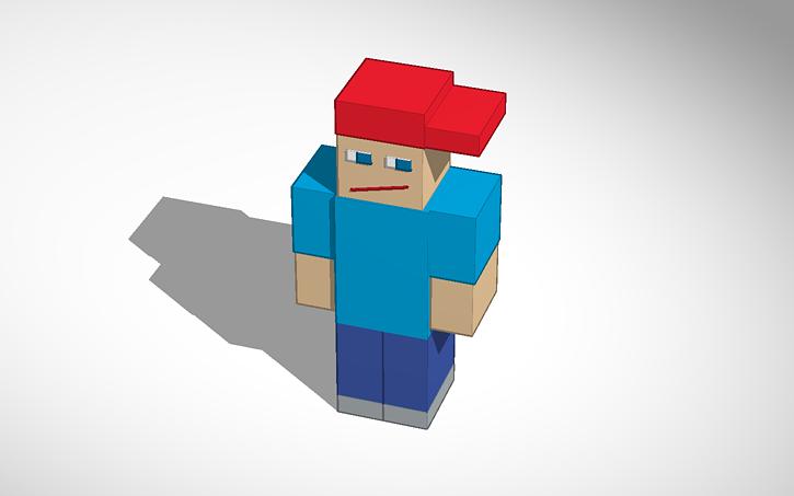 Minecraft Person That Wear Cap