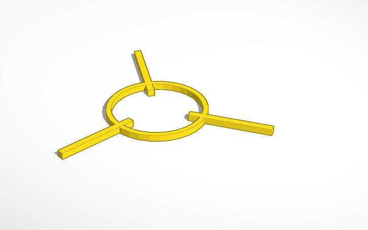 3D design Back Frame - Iron Man Vibranium Arc Reactor Mk  II