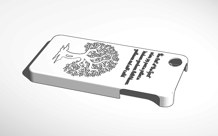 3d Design Iphone 4 Case With Tree And Bible Verse Together