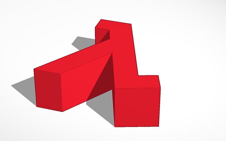 3d Design Half Life Symbol Tinkercad