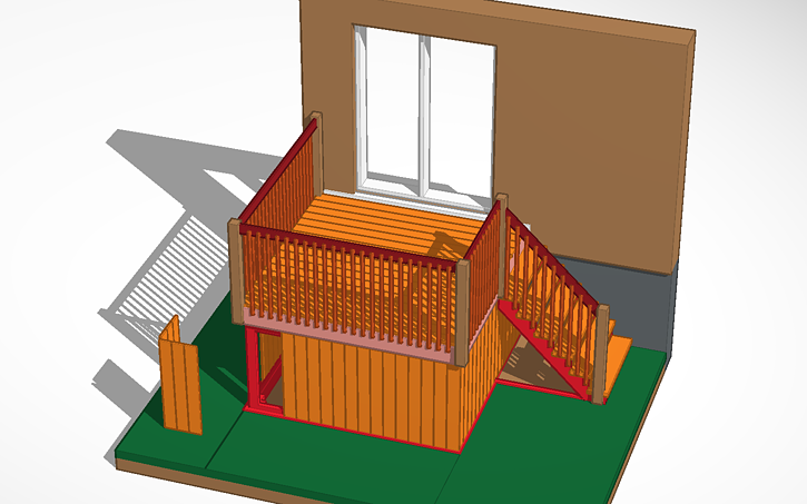 3D design Patio | Tinkercad