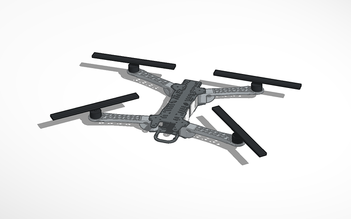 3D design PX450 Quadcopter frame (My Design) | Tinkercad