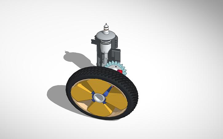 3D design Piston Engine | Tinkercad