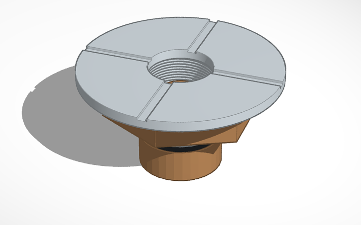 3D design Varitube 510 Connector - 22mm | Tinkercad
