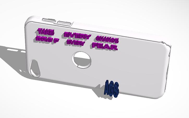 3d Design Phone Case Tinkercad