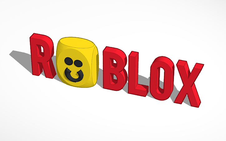 3D design ROBLOX LOGO(not actually official logo :P) | Tinkercad