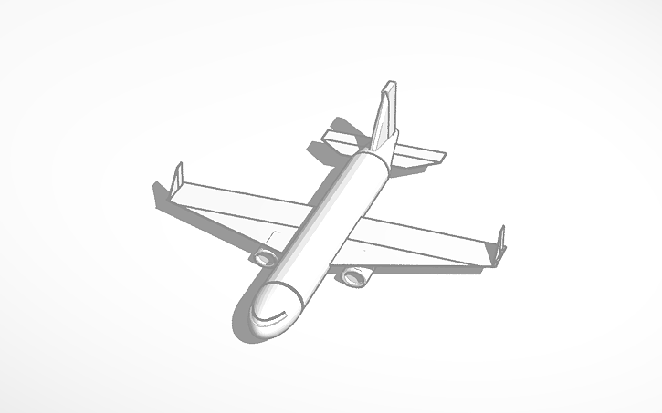 3D design Boeing 737 (plane in design) | Tinkercad